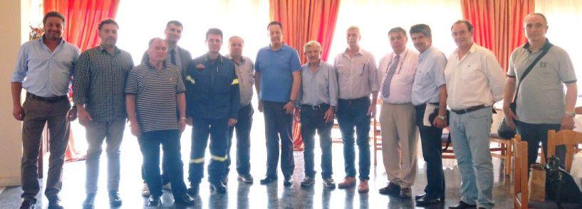 Με στρατηγό, αστυνομικούς διευθυντές και διοικητή Π.Υ. συναντήθηκαν οι Έφεδροι Αξιωματικοί του Ν. Ημαθίας
