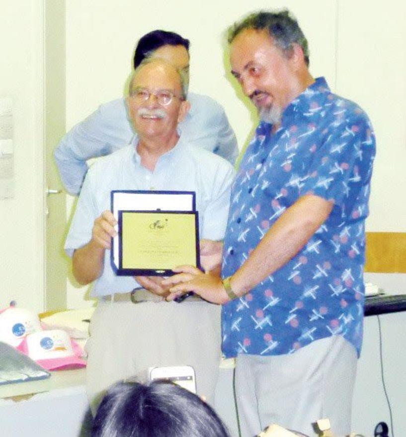 Βραβείο στον Αστροφυσικό  της Νάουσας Χαρ. Τομπουλίδη