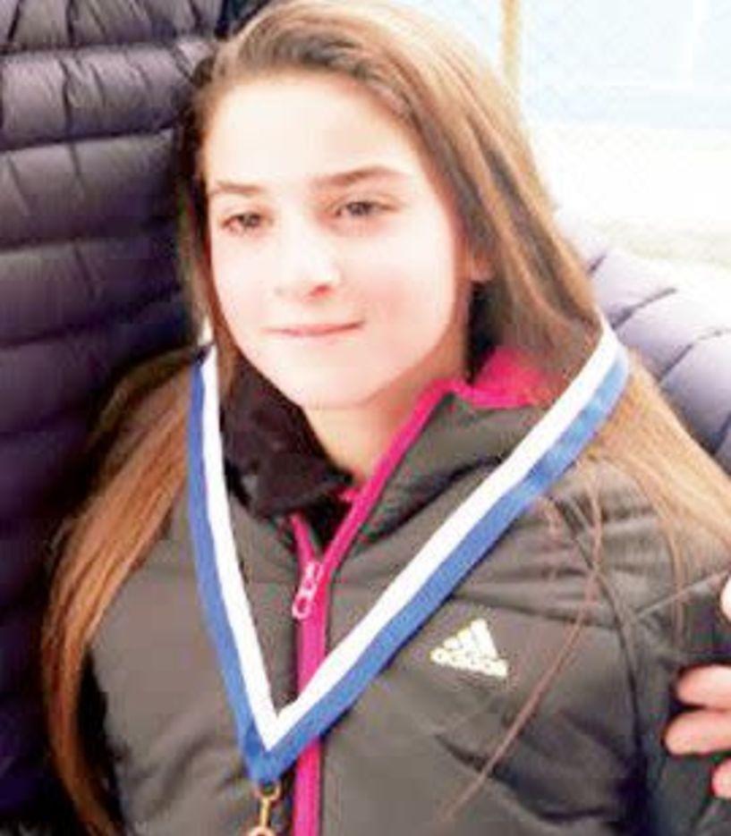 ΤΕΝΙΣ - Μετάλλιο για την Κάτια Πατσίκα  στα 14αρια