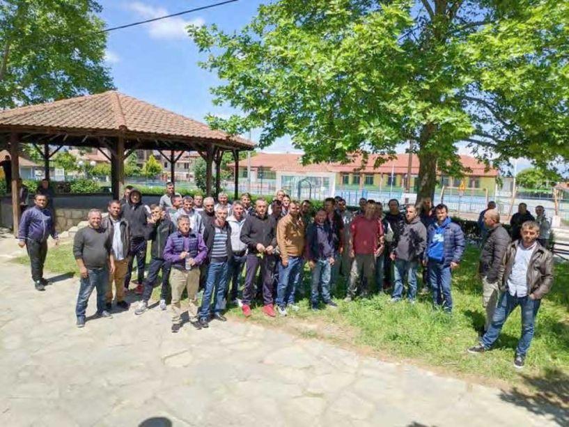 Αποχή διαμαρτυρίας, εδώ και 4 ημέρες, από εργάτες γης στην Αγία Μαρίνα