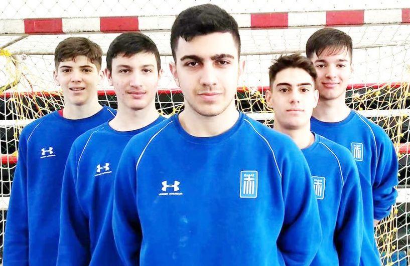 Συμμετοχή πέντε αθλητών  της ομάδας χάντμπολ του Φιλίππου στο κλιμάκιο της Εθνική Παίδων