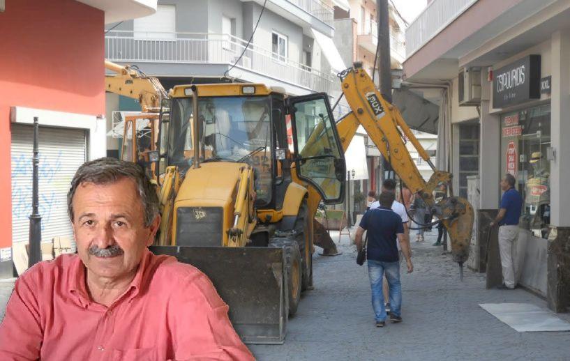 Θαν. Σιδηρόπουλος: Τι θα γίνει στον εμπορικό   πεζόδρομο, ποια έργα ακολουθούν,   για ποιο πρόβλημα διαμαρτύρονται κυρίως οι δημότες