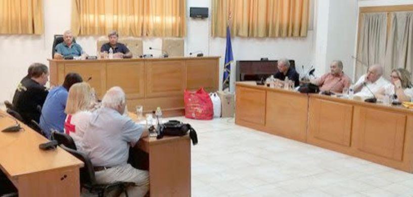 Συγκρότηση και Σύσκεψη του Συντονιστικού Πολιτικής Προστασίας του Δήμου Αλεξάνδρειας