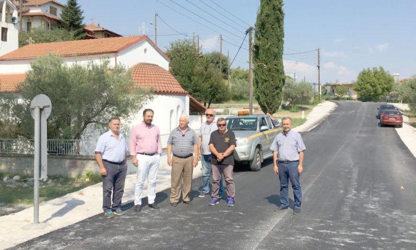 Στην κυκλοφορία δόθηκε η γέφυρα του Αγίου Νικολάου στην Πατρίδα