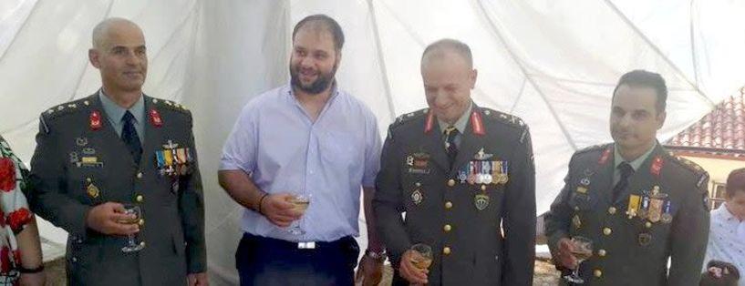 Ο Αντισυνταγματάρχης   Κωνσταντίνος Αναστασιάδης, νέος διοικητής στη Β΄ Μοίρα Καταδρομών