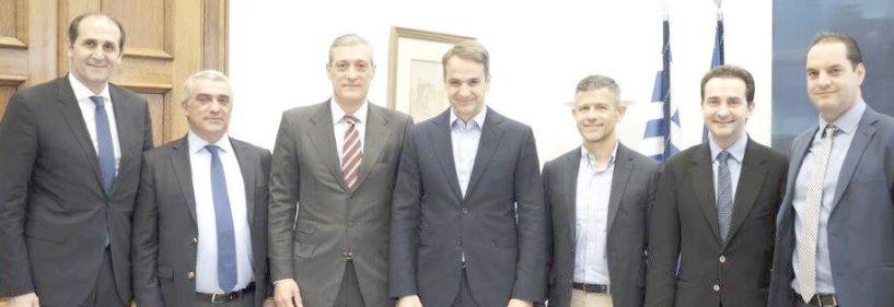 Ελληνική Ένωση Καφέ:   Ενημερωτική συνάντηση   με τον Κυρ. Μητσοτάκη για   κρίσιμα ζητήματα του κλάδου