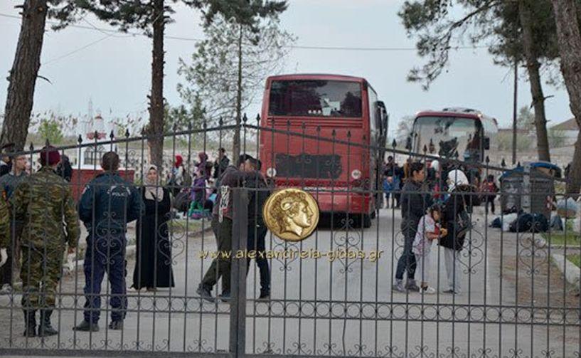 Αιματηρή συμπλοκή στο Κέντρο   Φιλοξενίας   Προσφύγων   της Αλεξάνδρειας