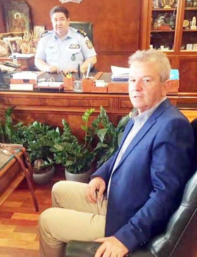 Προβλήματα της Αστυνομίας Ημαθίας συζήτησε ο Απ. Νεστορόπουλος με τον Αρχηγό της ΕΛ.ΑΣ. και τον Δ/ντη του Υπουργείου Προστασίας του Πολίτη