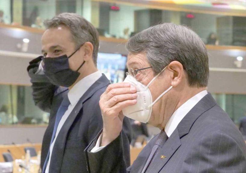 Σύνοδος Κορυφής: Θέμα Τουρκίας έθεσαν με το «καλημέρα»  Μητσοτάκης και Αναστασιάδης