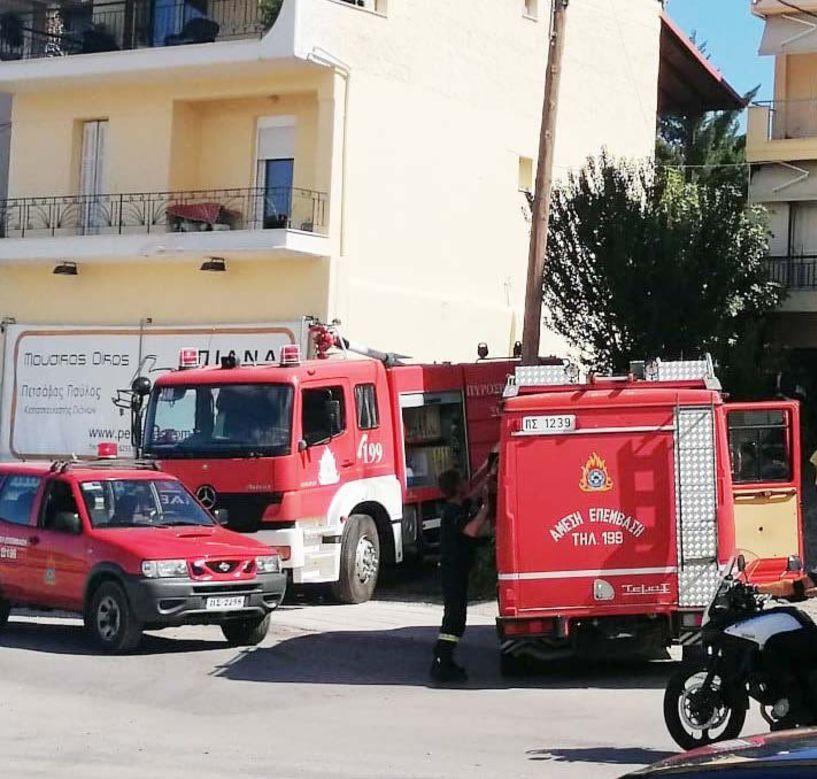 Σε live μετάδοση στον ΑΚΟΥ 99.6 η επέμβαση  της Πυροσβεστικής στην πυρκαγιά της Σταδίου στη Βέροια - Βίντεο