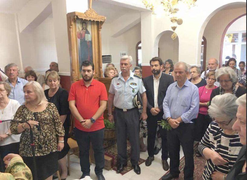 Η Ύψωση του Τιμίου Σταυρού   στον Ι.Ν. του Γηροκομείου Βέροιας
