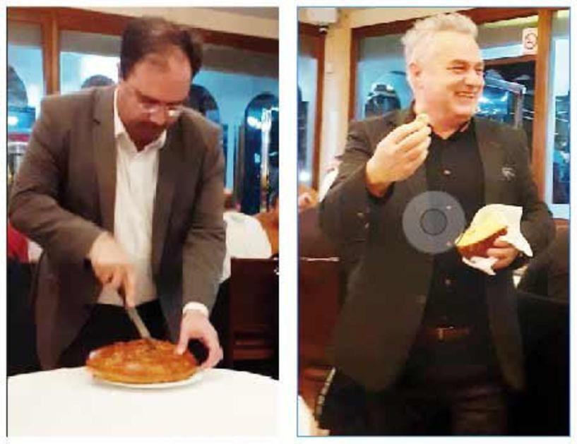 Έκοψε πίτα  ο συνδυασμός Βοργιαζίδη