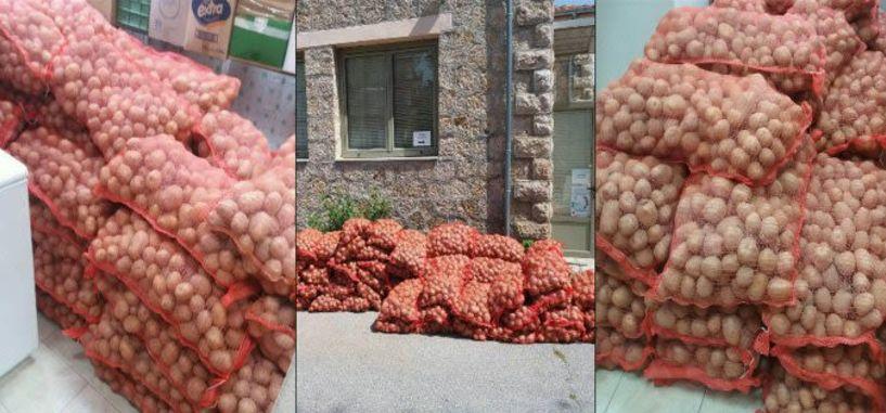 Πάνω από 5.100 κιλά πατάτες   διανεμήθηκαν σε ωφελούμενους   από το Κοινωνικό   Παντοπωλείο του Δήμου Βέροιας