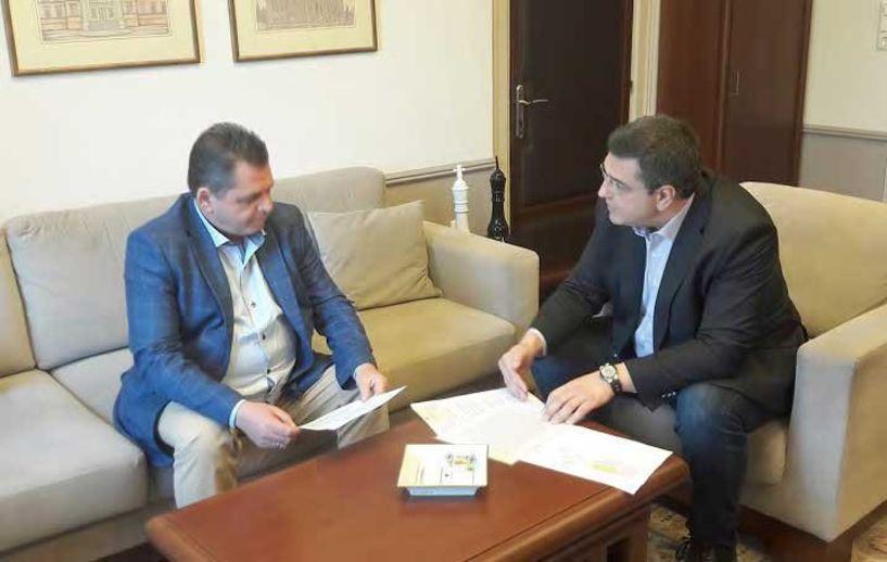 Συνάντηση Τζιτζικώστα- Καλαϊτζίδη, για φυσικό αέριο, ΕΣΠΑ, Διοικητήριο, Νοσοκομείο -Επίκειται επίσκεψη του Απόστολου Τζιτζικώστα στην Ημαθία