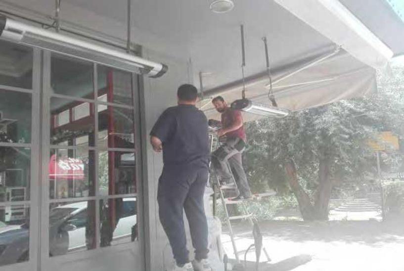 Αλλαγή σκηνικού και λειτουργίας  - Καθαρίζουν μέσα κι έξω και ρυθμίσουν τα  τραπεζοκαθίσματά  τους  για την Δευτέρα οι καταστηματάρχες της Εστίασης