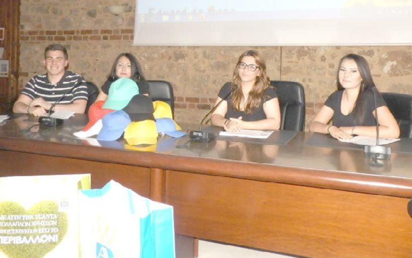 Με τη μέθοδο των «έξι καπέλων της σκέψης»  απάντησαν σε ερωτήματα για το τέλος  στις σακούλες και τη σχέση του   με τη ρύπανση του περιβάλλοντος..