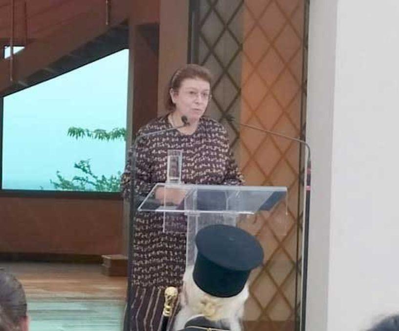 Τον «Τοίχο της Μνήμης» στο Αρχαιολογικό Μουσείο Βέροιας εγκαινίασε η Υπουργός Πολιτισμού, σε μια πρωτότυπη παρουσίαση