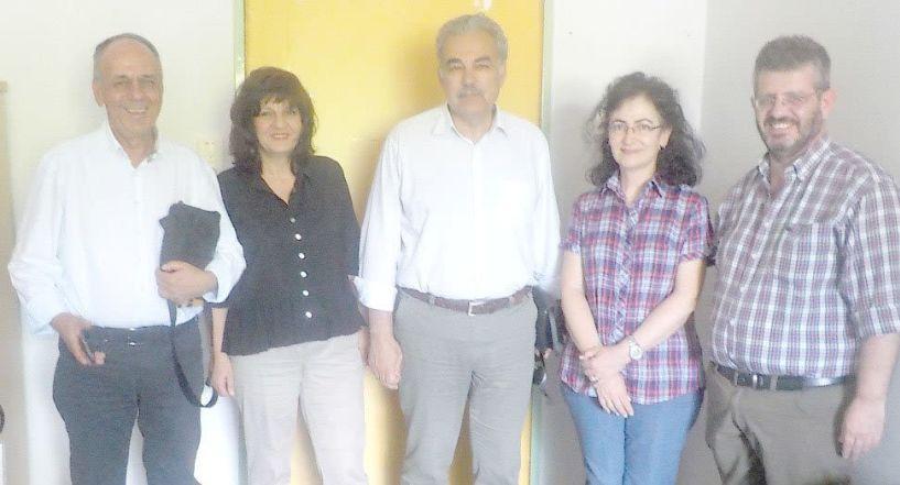 Το Κέντρο Υγείας  Αλεξάνδρειας επισκέφθηκαν  οι βουλευτές  Φρόσω Καρασαρλίδου  και Χρήστος Αντωνίου