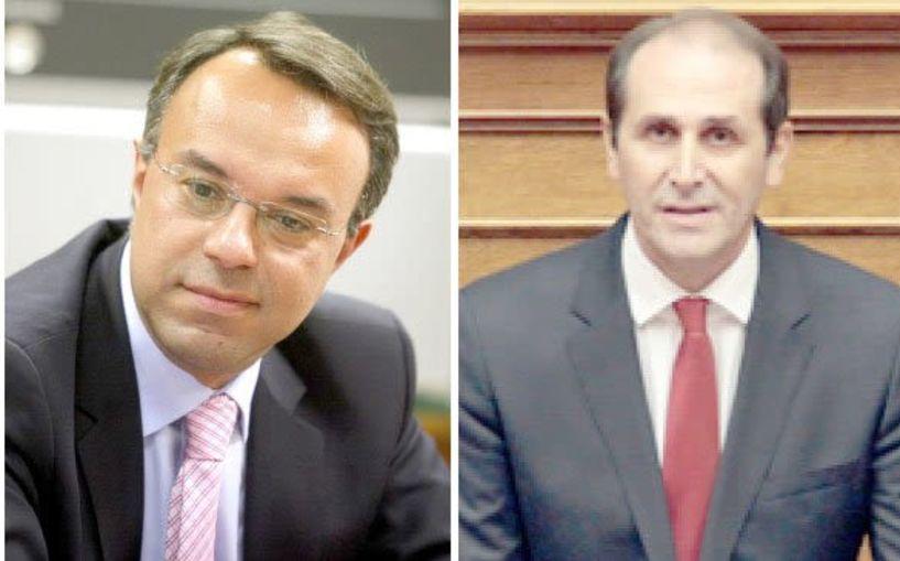 Σταϊκούρας –   Βεσυρόπουλος:   «Η σημερινή Κυβέρνηση φέρει επάξια τον τίτλο της   Κυβέρνησης των φόρων,   των κατασχέσεων   και των πλειστηριασμών»