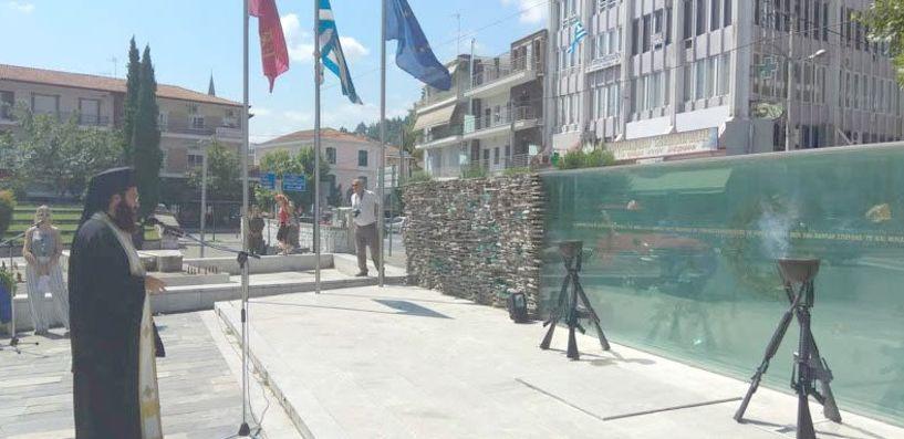 Την μνήμη των πεσόντων  στην Κύπρο τίμησε χθες η Βέροια