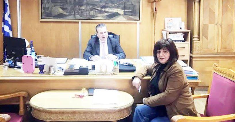 Διαβεβαίωση Πετρόπουλου προς Καρασαρλίδου: Πιο ισχυρός ο ΕΦΚΑ στη Νάουσα, χωρίς καμία απολύτως μείωση του προσωπικού
