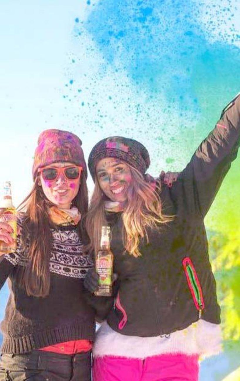 Την Κυριακή 17 Φεβρουαρίου για μικρούς και μεγάλους - Φεστιβάλ χρωμάτων στο χιονισμένο Σέλι με εργαστήρια, παιχνίδια,   τσουλήθρες, σόου και πάρτι