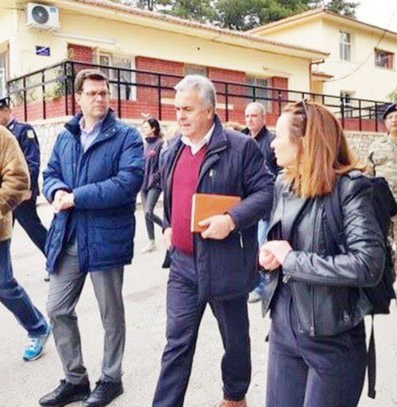 Πρώτη επίσκεψη Τόλκα στα Κέντρα φιλοξενίας  προσφύγων και σε σχολεία της Ημαθίας