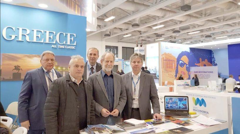 Ο Δήμος Βέροιας   στην Διεθνή Έκθεση   Τουρισμού ITB του Βερολίνου