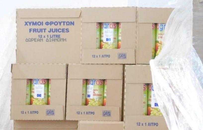 420.590 λίτρα χυμού ροδάκινων και νεκταρινιών   απορρόφησε ο Δήμος Νάουσας, ενισχύοντας   το εισόδημα των παραγωγών