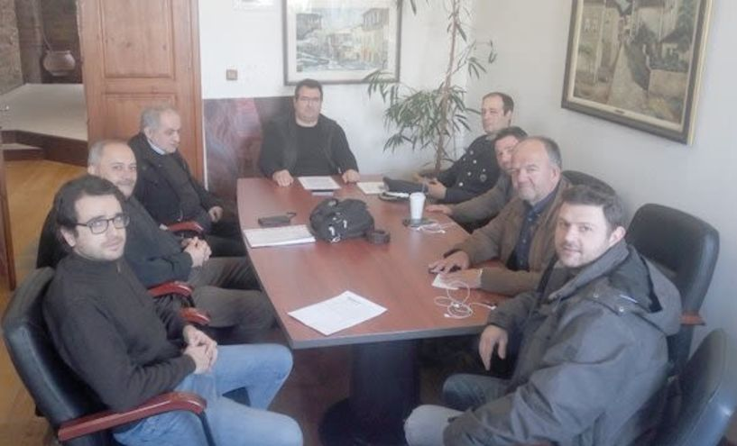 Σύσκεψη εργασίας με εκπροσώπους φορέων και υπηρεσιών για τα αδέσποτα
