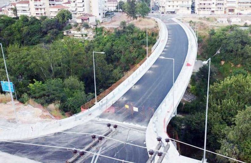 «Κλείδωσαν»  για τις 22 Ιουλίου  τα εγκαίνια  της γέφυρας Κούσιου