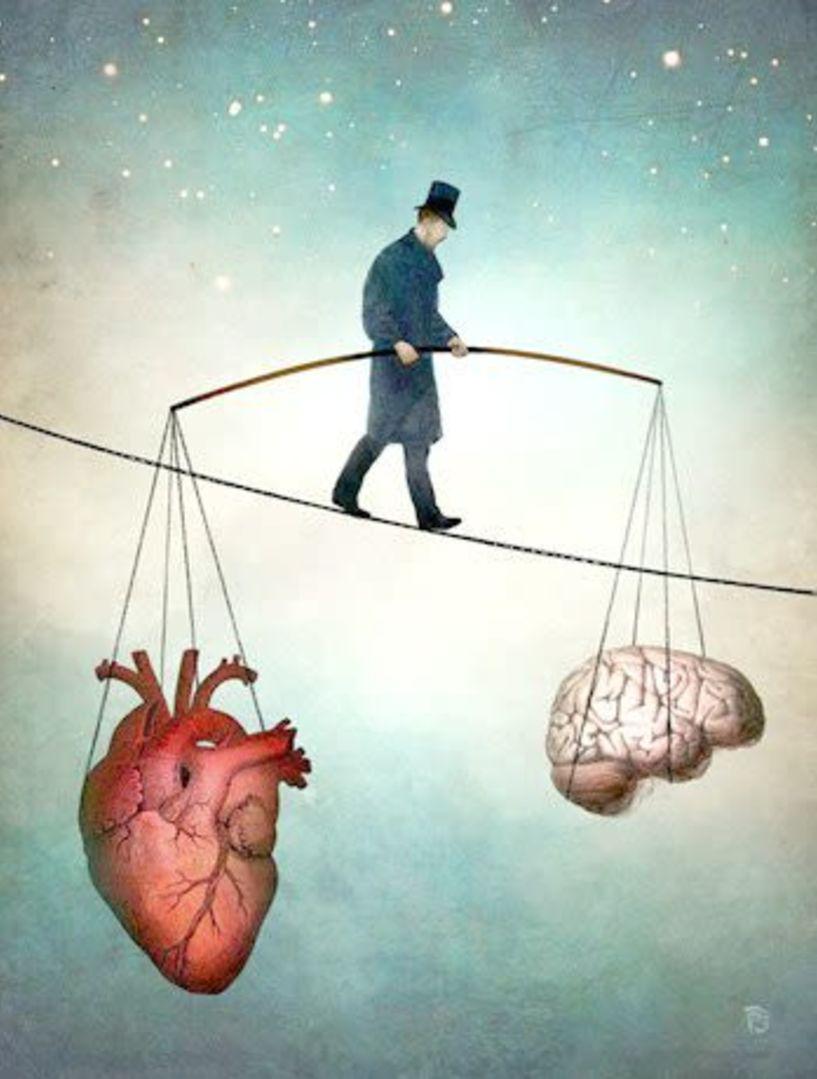 Έκφραση της Ψυχής  ως σύμμαχος της Υγείας… - « Η Λογική ή το Συναίσθημα  κατευθύνει τις επιλογές σου;….»