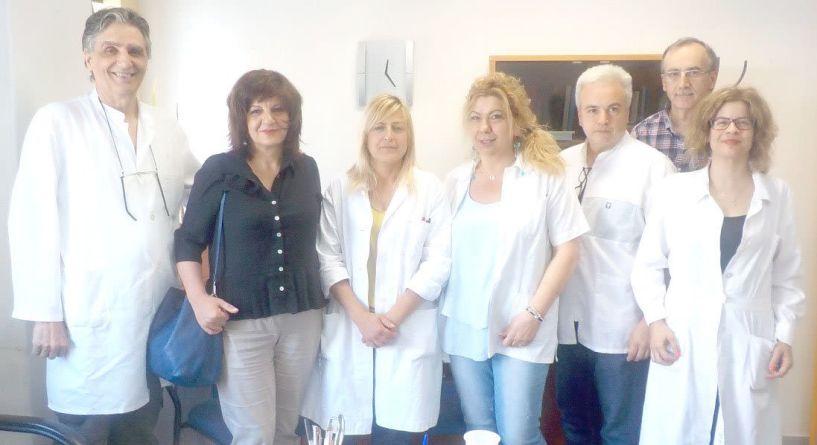 Το Κέντρο Υγείας Νάουσας επισκέφτηκε η βουλευτής Φρόσω Καρασαρλίδου