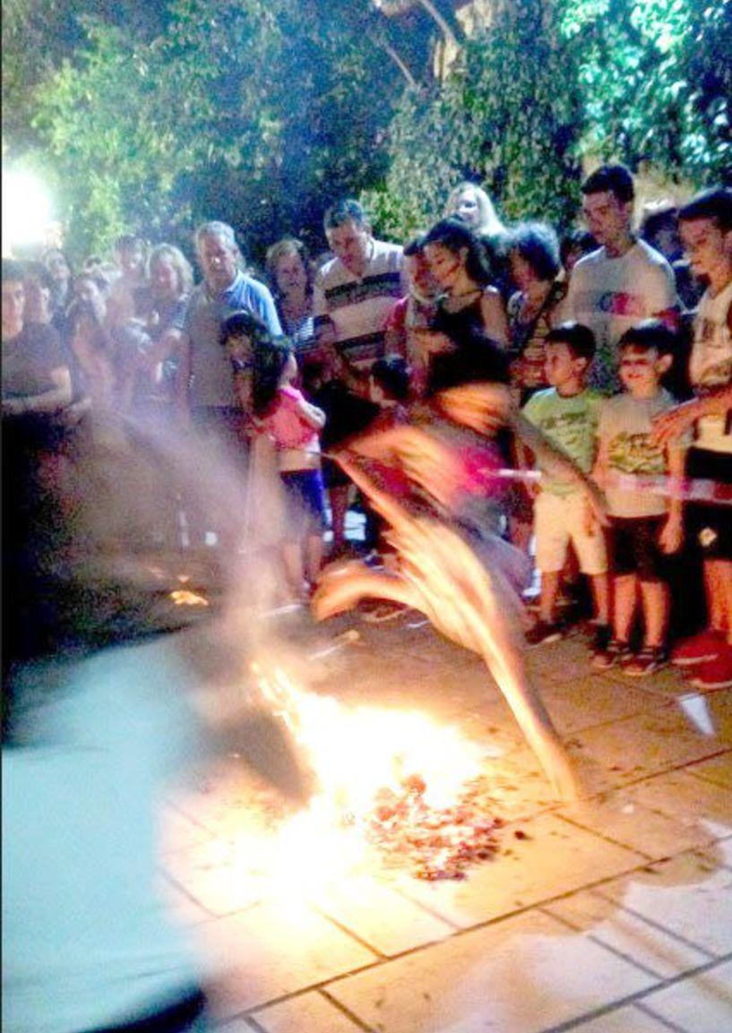 Το Σάββατο 23 Ιουνίου -  Θα ανάψουν και φέτος οι φωτιές  στον Άγιο Βλάση της Κυριώτισσας