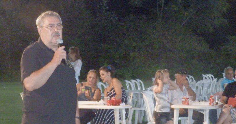 Ξεσηκώθηκε το γήπεδο με Πίτσα Παπαδοπούλου και Τα Παιδιά από την Πάτρα στις εκδηλώσεις της Πατρίδας