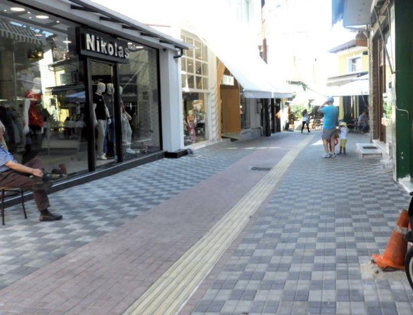 Στο «τρίγωνο» των καφέ-μπαρ της Τσαλδάρη  μπαίνουν από βδομάδα τα σκαπτικά