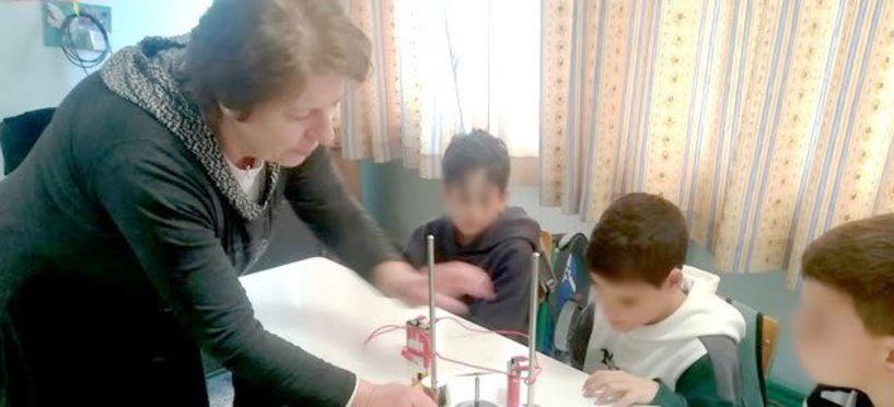Εκπαιδευτική επίσκεψη του ΕΚΦΕ   στο 4ο Δημοτικό Σχολείο Βέροιας
