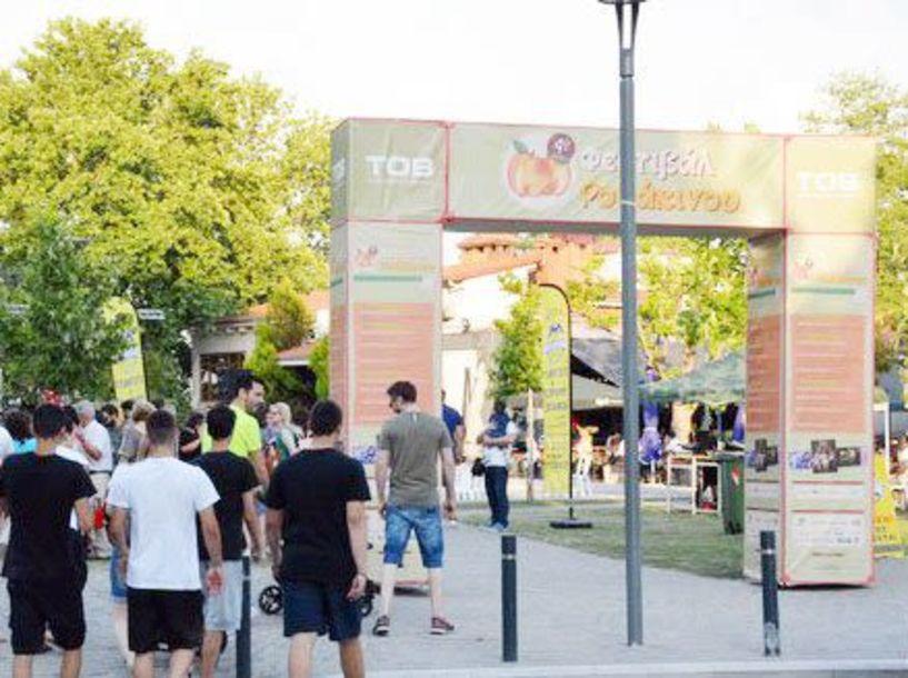 Στην ιστορία της Βέροιας πέρασε  και το 4ο Φεστιβάλ Ροδάκινου