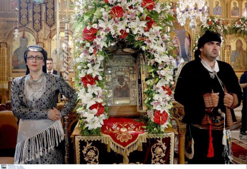 H εικόνας της Παναγίας Σουμελά στη Θεσσαλονίκη με αφορμή τη συμπλήρωση ενός αιώνα από τη Γενοκτονία των Ποντίων