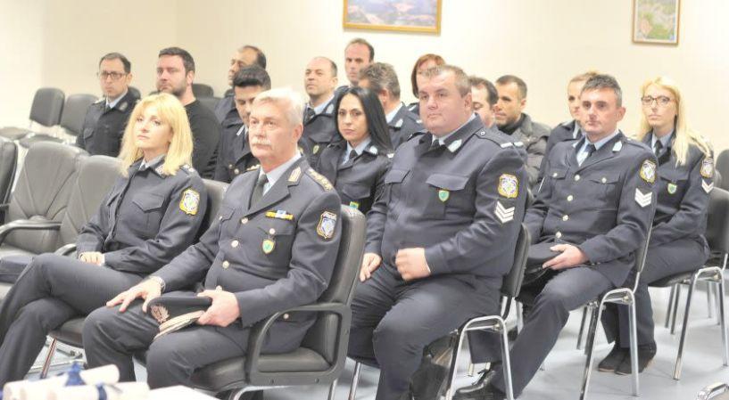 Από την Αστυνομική Ακαδημία Βέροιας Απονομή πιστοποιητικών  σπουδών σε 15 Αστυνομικούς  της Βόρειας Ελλάδος