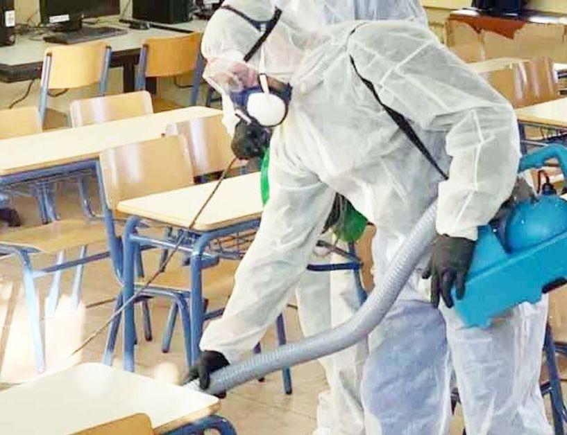Κλειστά 2 τμήματα του Δ. Σχολείου Αγ. Γεωργίου  λόγω κρούσματος – Προληπτική απολύμανση χθες  του 9ου Δ. Σχολείου Βέροιας