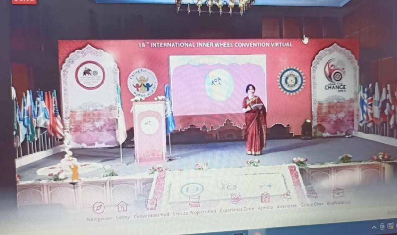 ΟΜΙΛΟΣ INNER WHEEL ΒΕΡΟΙΑΣ 18ο Παγκόσμιο Συνέδριο & 1ο Διαδικτυακό του Inner Wheel