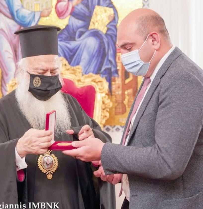 Tον Μητροπολίτη Βεροίας επισκέφθηκε ο Γενικός Πρόξενος της Γεωργίας