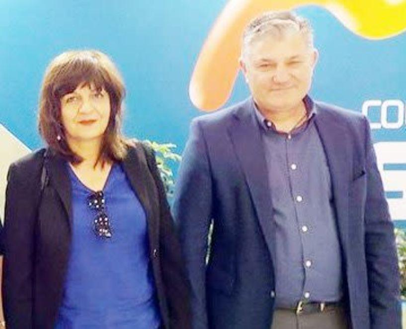 Με επαγγελματίες της αγροτικής οικονομίας  στη Freskon η Φρόσω Καρασαρλίδου
