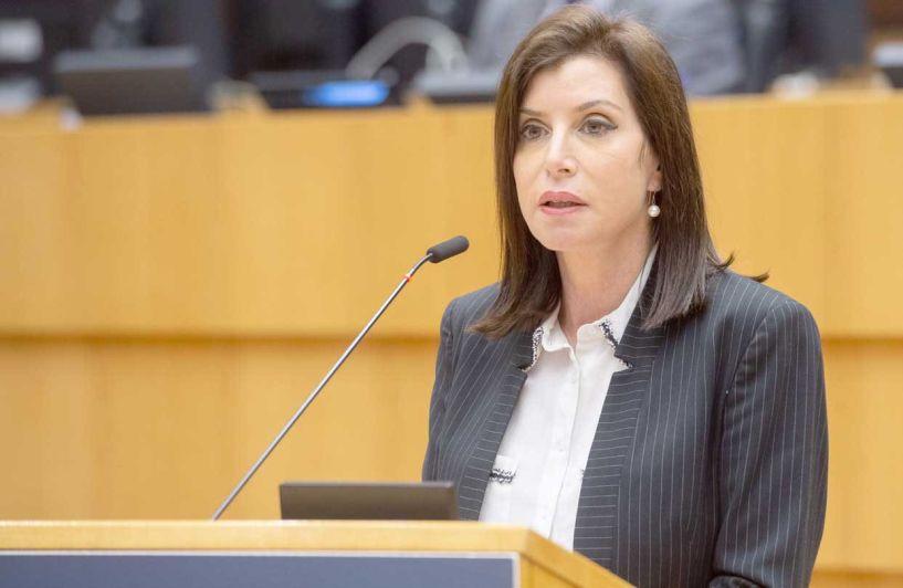 Άννα Μισέλ Ασημακοπούλου: Ερώτηση για το ενδεχόμενο αναστολής της Τελωνειακής Ένωσης Ε.Ε. – Τουρκίας, λόγω προκλητικών δηλώσεων Ερντογάν, για Βαρώσια