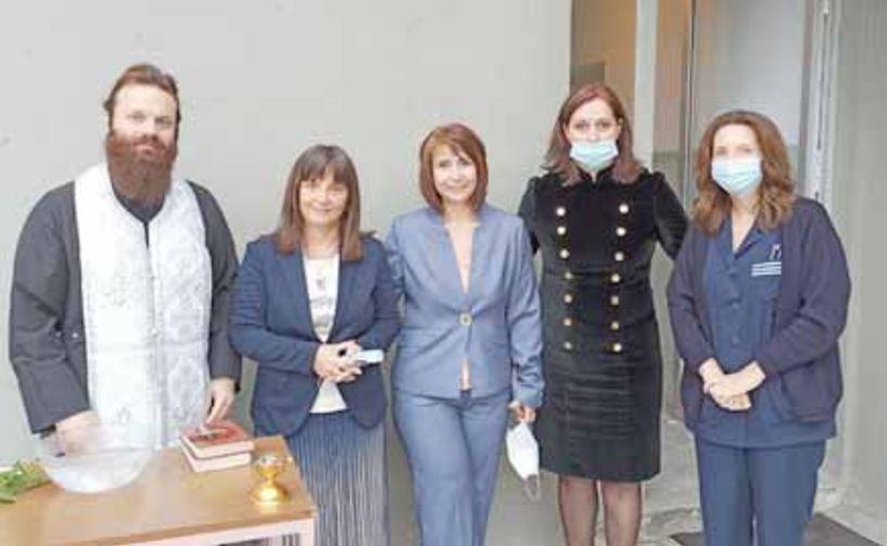 Αγιασμός για την έναρξη της εκπαιδευτικής χρονιάς στο ΔΙΕΚ Νοσηλευτικής του Νοσοκομείου Βέροιας