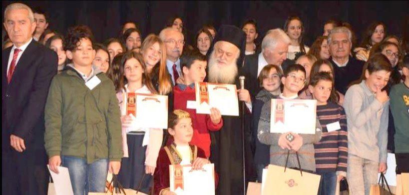 Επιτυχημένη η γιορτή των γραμμάτων  στο δημοτικό  θέατρο Νάουσας