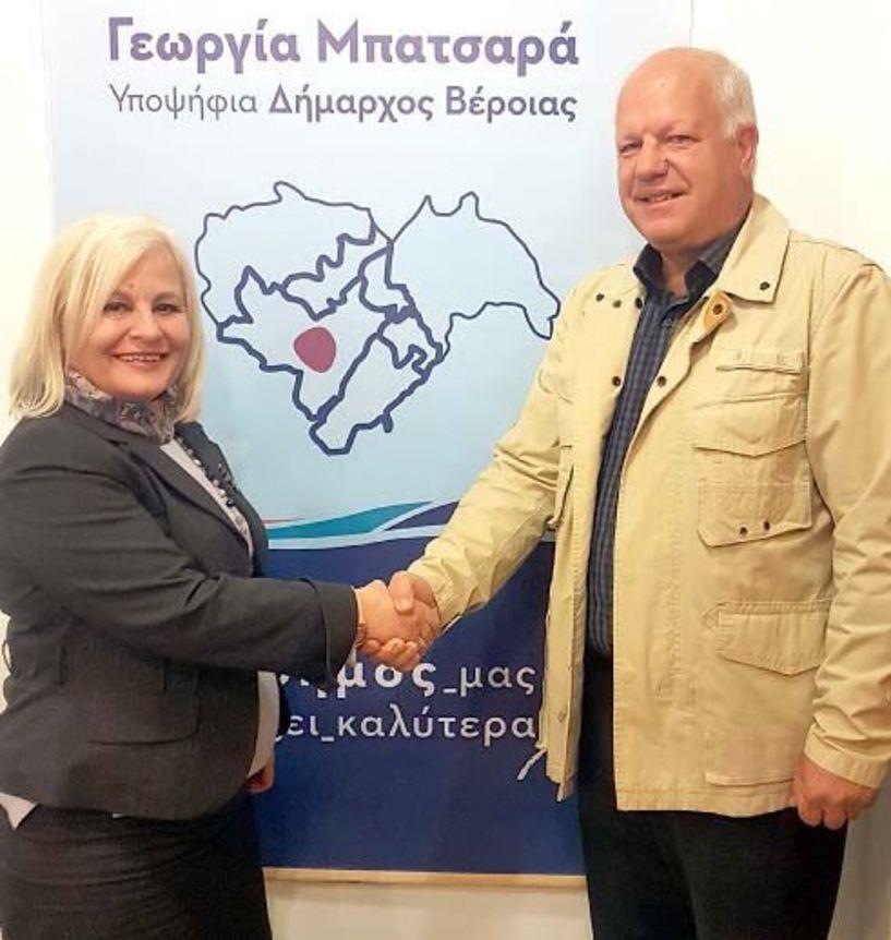 Ο πρώην Δήμαρχος Δοβρά Χρήστος Τσιούντας υποψήφιος με την Γεωργία Μπατσαρά