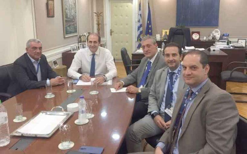 Ελληνική Ένωση Καφέ: Κρίσιμα   ζητήματα για  τη λειτουργία και την   ανάπτυξη του κλάδου συζήτησε το Δ.Σ με τον Υφ. Οικονομικών, Απ. Βεσυρόπουλο