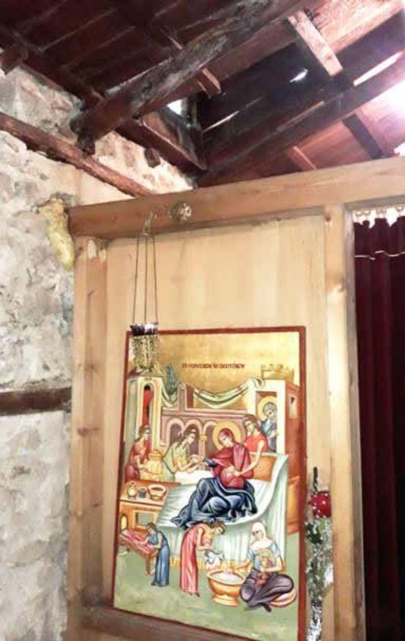 Άμεση παρέμβαση της Εφορείας Αρχαιοτήτων  στην εκκλησία της Αγ. Άννας στον πεζόδρομο